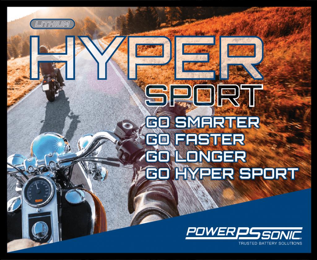 Hyper Sport Lithium PowerSport Batteries