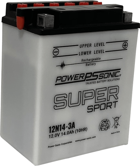 Cb14l A2 12v 14ah High Performance Conventional Battery Power Sonic