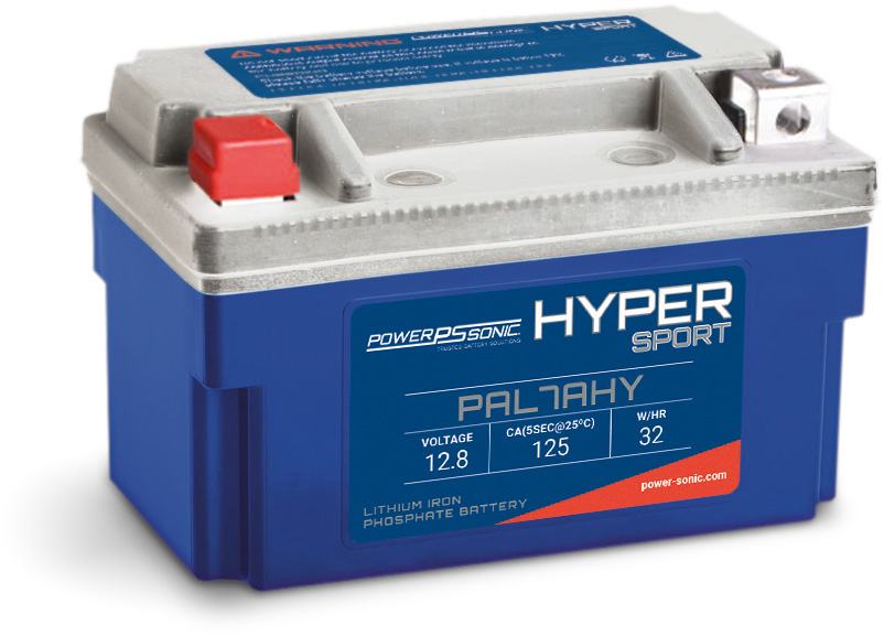 Lithium Powersport batteries