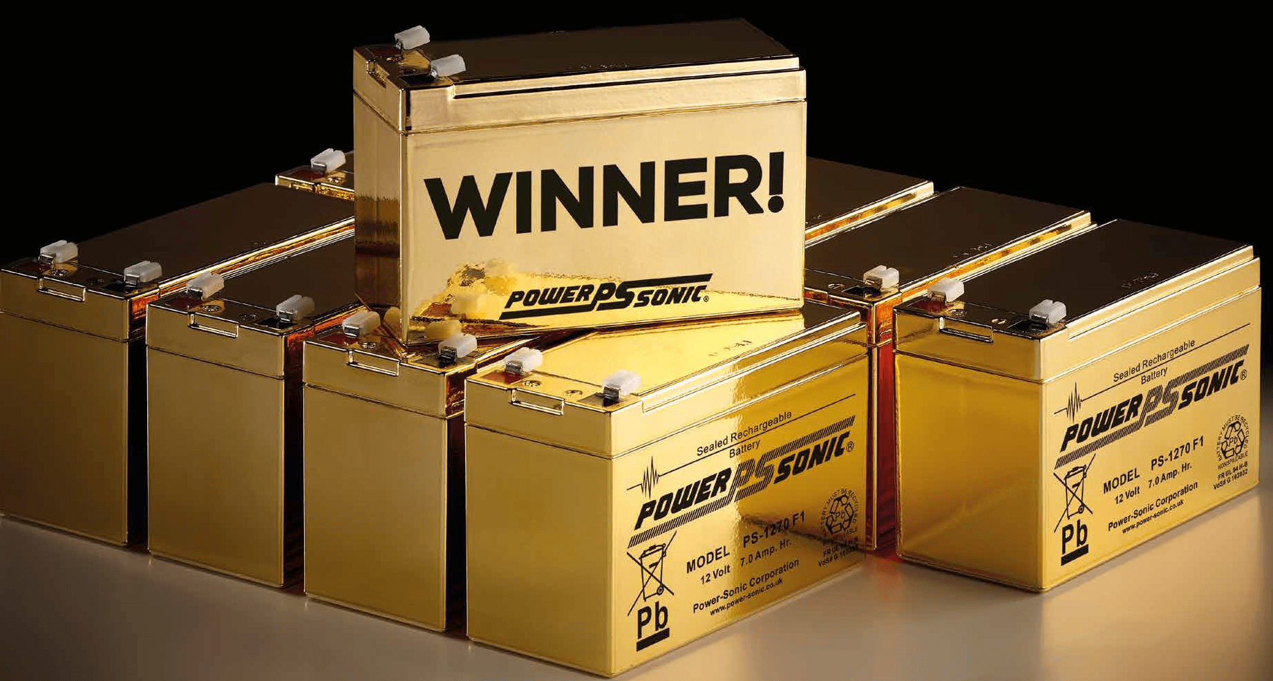 2 Gold Batteries Still to be Found in our Give Away!