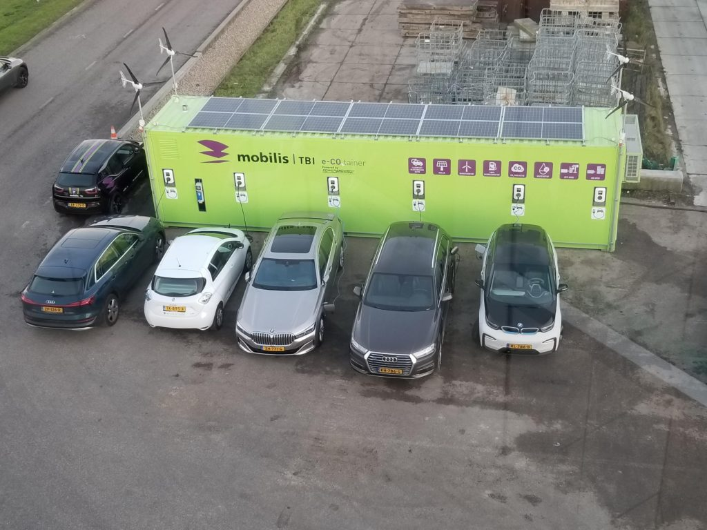 micro grid with ev charging