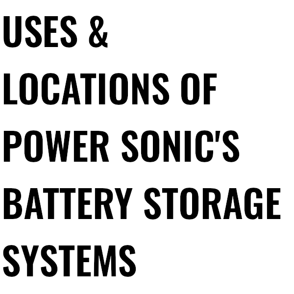 About Utility Scale Battery Storage About Image