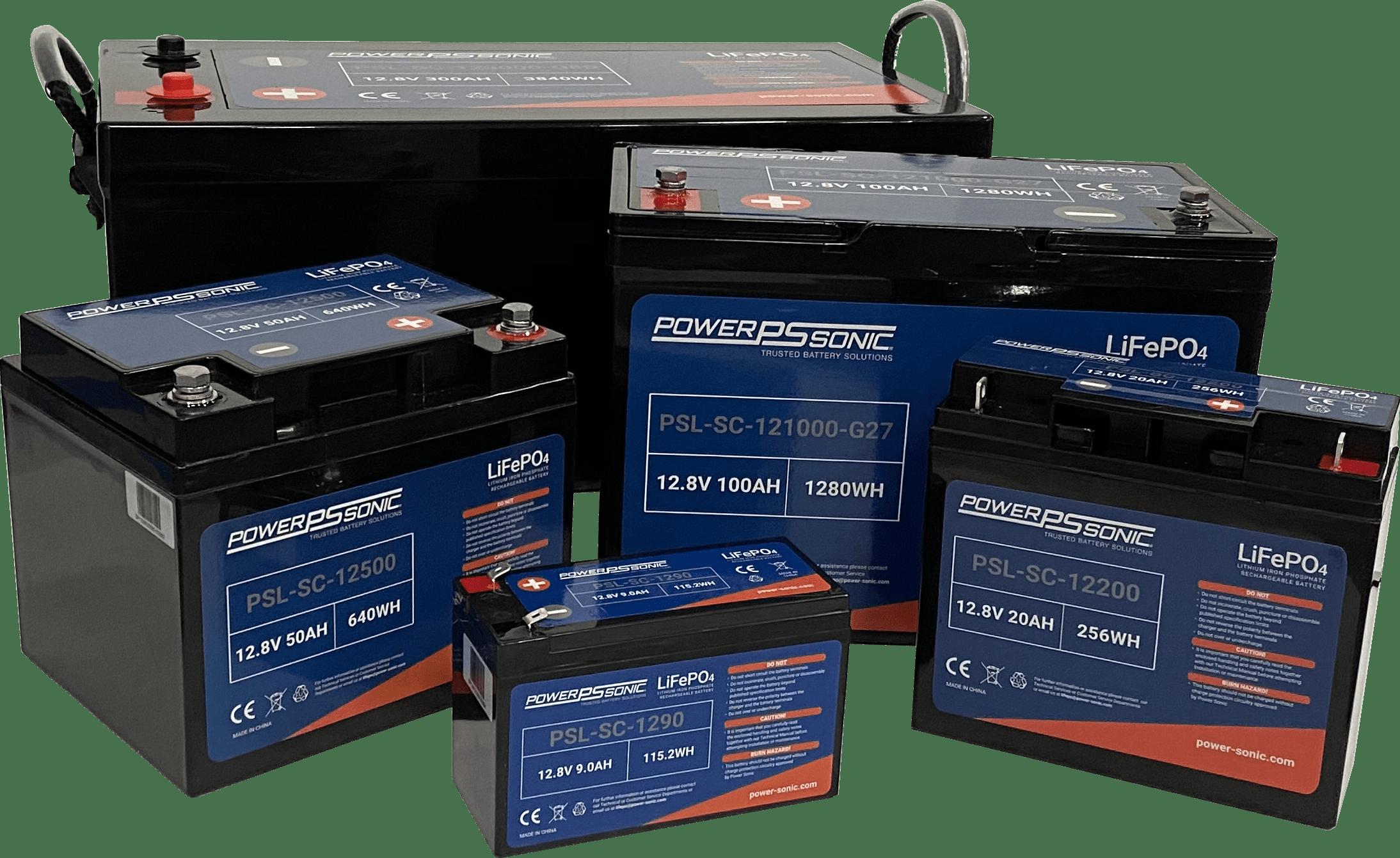 PSL-SC Series - Lithium Battery