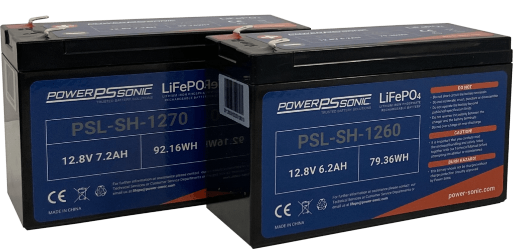 PSL-SH Series - High Rate Lithium Battery