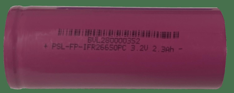 PSL-FP-IFR26650PC