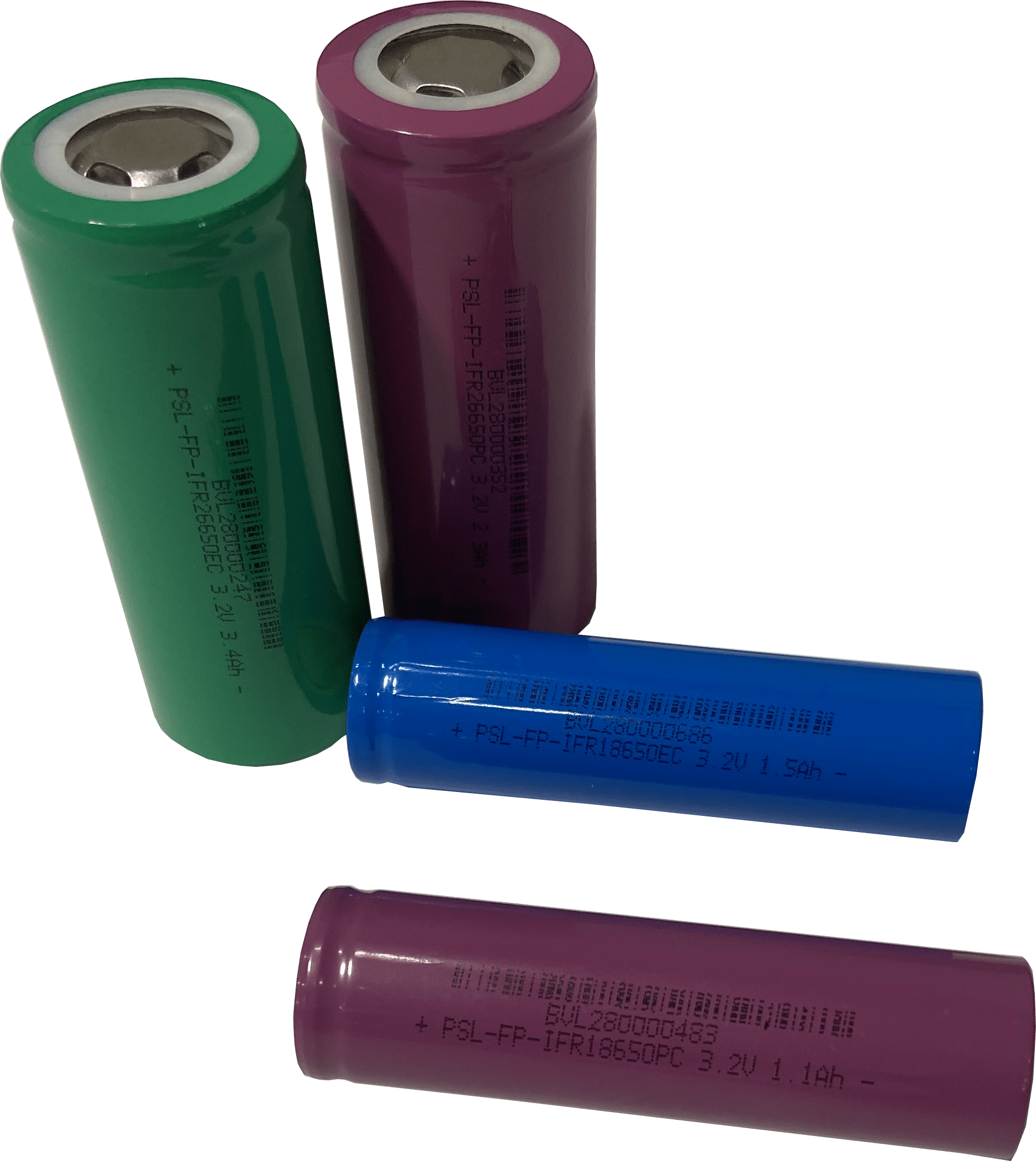 Cylindrical lithium cells