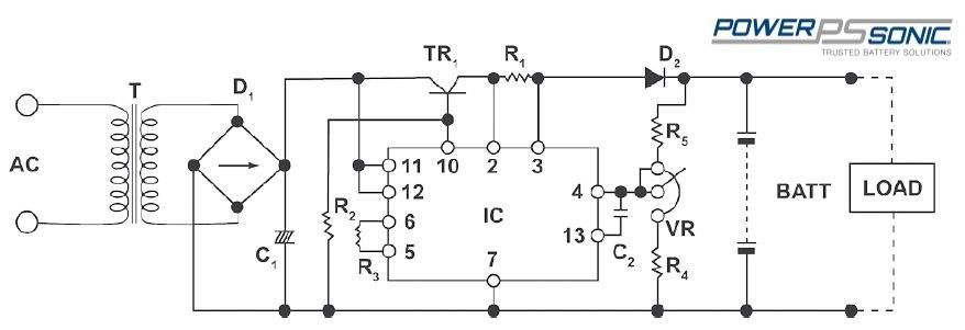 Constant voltage charging circuit