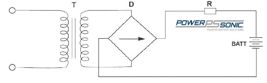 Taper current charging circuit