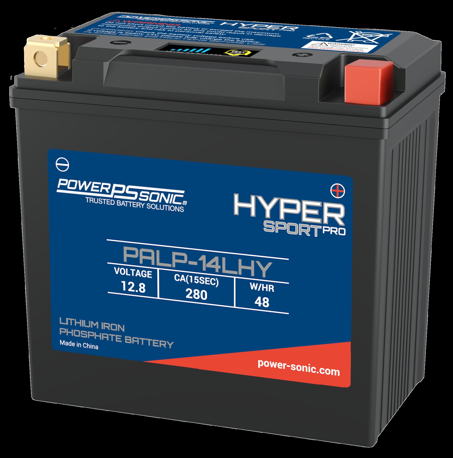 PALP-14LHY - Lithium powersport battery